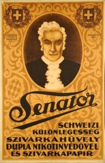 Senator schweizi különlegesség. Szivarkahüvely ...