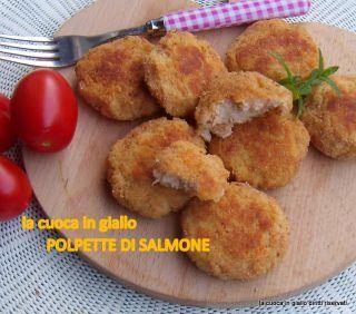 Polpette di salmone   la cuoca in giallo