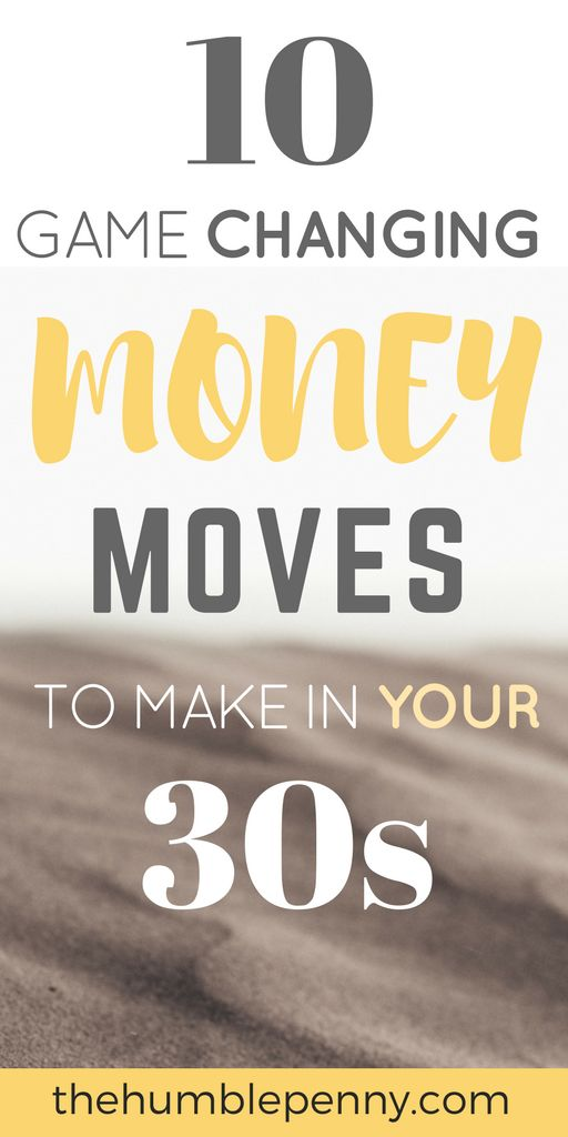 Your 30s are your golden years! It's a time to be Fearless. The financial decisions you make at this stage of life are Game Changing and could either lead to you working longer into retirement or becoming Financially Independent and with the option of Early Retirement. These 10 moves will transform your 30s and your future life if you model them and stay true to your Life design and plan. #Money #30s #SavingsRate #Savings #Financial Independence #FinancialFreedom #FI #FIRE #FIOR...