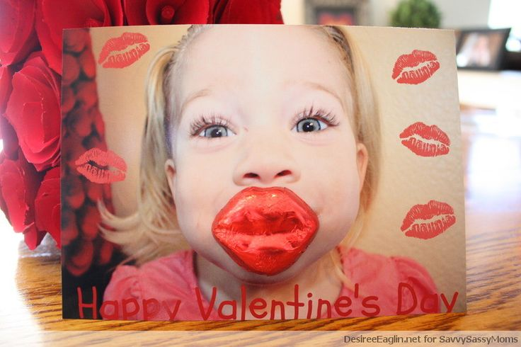 Kisses For You Valentines Day Card (Tutorial)