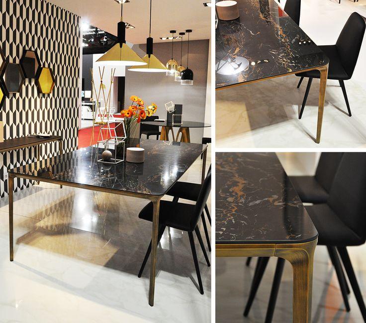 New Portoro finish for SLIM #table #design #materials #architecture #archilovers #designlovers #sovet #sovetitalia