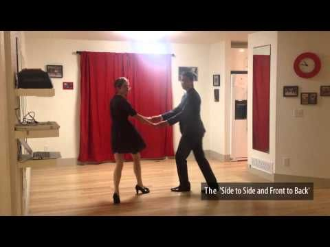 Learn to Swing Dance | Level 1 Lesson 1 (Lindy Hop) | Lindy Ladder - YouTube
