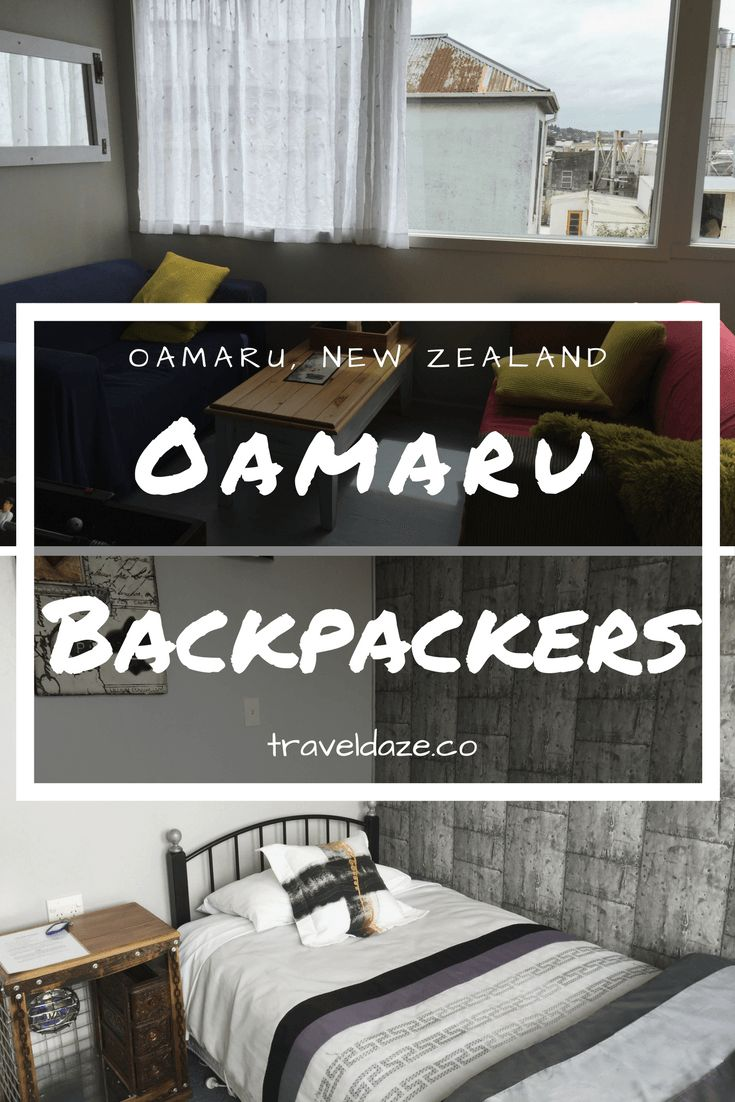 Oamaru Backpackers: This home-turned-upscale backpackers is a budget-friendly hostel in Oamaru, New Zealand