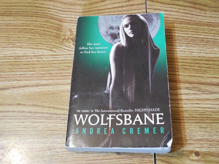 Wolfsbane Andrea Cremer 2012 Paperback Fiction Fantasy Paranormal Romance