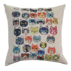 SHARE & Get it FREE | Cats Cartoon Funny Sofa Bed Pillow CaseFor Fashion Lovers only:80,000+ Items • New Arrivals Daily • Affordable Casual to Chic for Every Occasion Join Sammydress: Get YOUR $50 NOW!