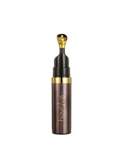 """Hourglass No. 28 Lip Treatment Oil """"Treatment oil"""" is another way of saying """"the most luxurious lip balm maybe ever."""" Spiked with vitamins (B5 and E) and moisturizers (olive, hazelnut, jojoba, and kukui nut oils), it's a serious overachiever, and the gold applicator tip is superfun to use. You can swipe it on anytime, but we love using it overnight because the thick formula doesn't evaporate and disappear. It's so rich you'll still feel it on your lips when you wake up."""