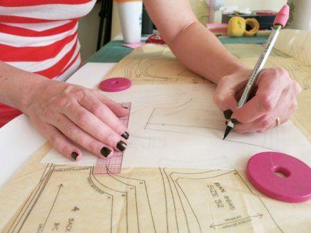 Мастер класс по построению выкройки бюстгальтера  и лифа от Эми Mac Чепмен