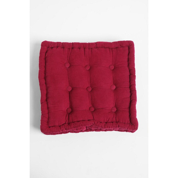 pillow floor--Urban Outfitters Tufted Corduroy Floor Pillow--Urban Outfitters For the Home ...