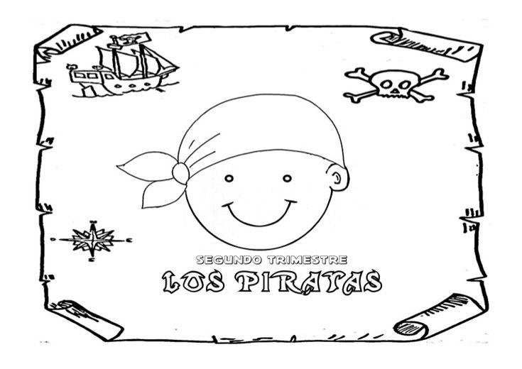 Dosier de fichas para trabajar el proyecto de los piratas en el nivel de cuatro años: canciones, poesías, lectoescritura, logicomatemática, nudos marineros, ed…