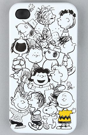 $26 The Peanuts Charlie Brown Hard Case for iPhone 4 by Loungefly at karmaloop.com - Use repcode SMARTCANUCKS for an extra 20% OFF at the checkout on Karmaloop.com