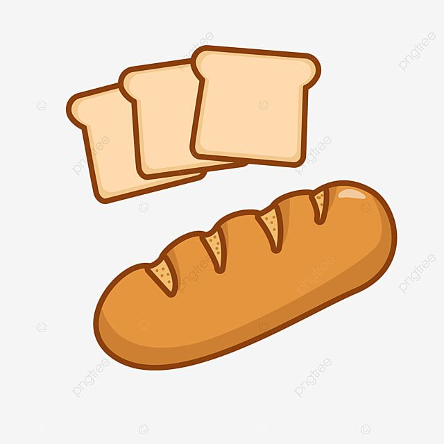 Breads Vector Illustration In Cartoon Style Bread Loaf Bakery Png And Vector With Transparent Background For Free Download In 2021 Cartoon Styles Vector Illustration Cartoon