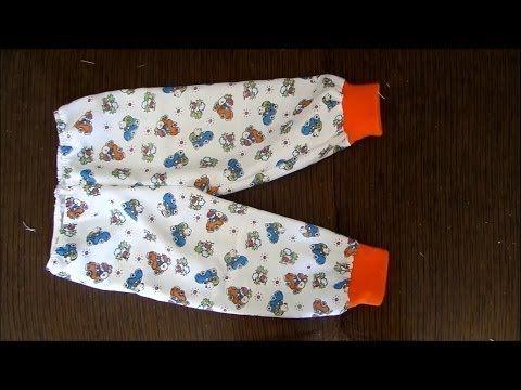 Como costurar calça com punho - pijama Alana Santos Blogger - YouTube