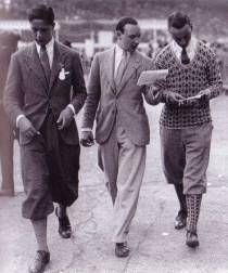 Mens Golf Pants From The 1920s 1930s On Angels Do SpeakR