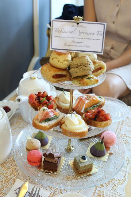 Olivia's choice: The Tea Room by Antique Patisserie - Traditional Afternoon Tea