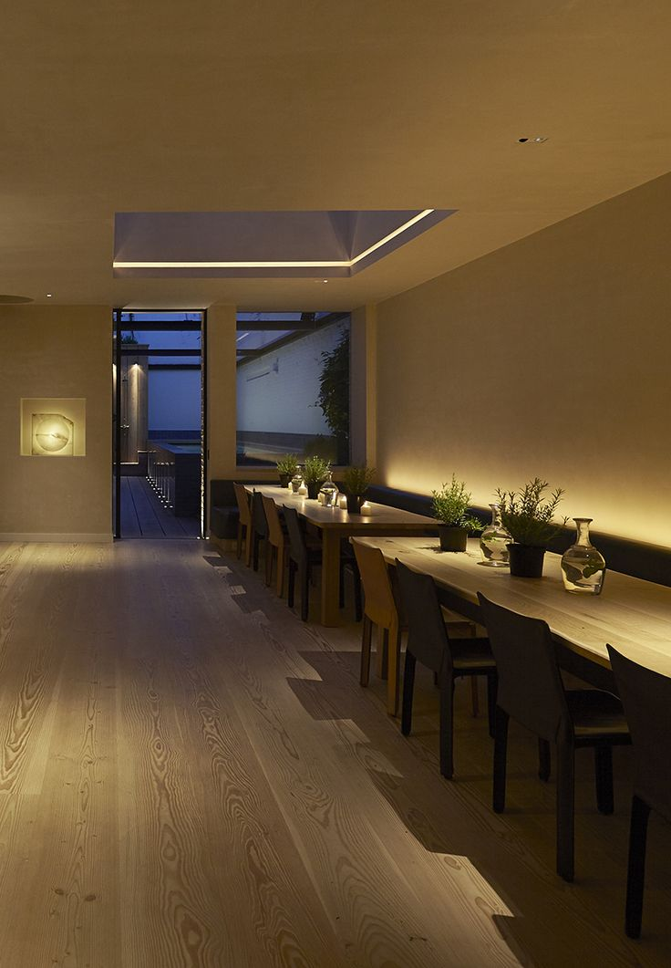 Dining room lighting design by john cullen lighting