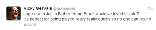 The Internet Responds To Justin Bieber And Anne Frank