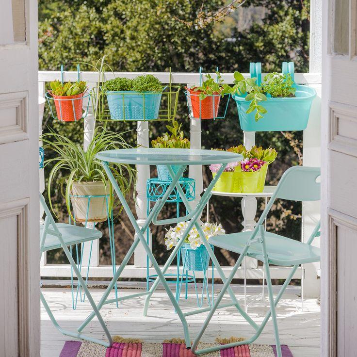 Macetas y muebles para tu #terraza y disfrutar de la primavera. Primavera - Verano 2017.