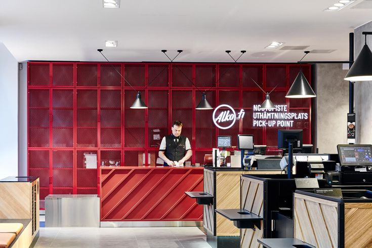 Alko flagship store Helsinki, a concept for more than 350 stores, design Kuudes Oy