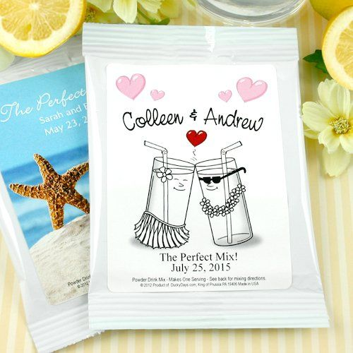 Personalized Lemonade Wedding Favors by Beau-coup, 110$