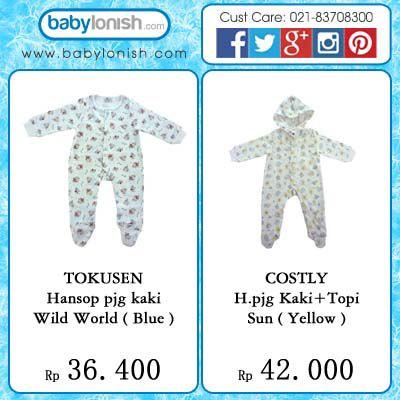 Hanson/onesies adalah pilihan baju yang sangat nyaman untuk dikenakan oleh bayi Anda.  Selain itu praktis karena sudah nyambung dengan kaus kakinya.  Hanya di www.babylonish.com