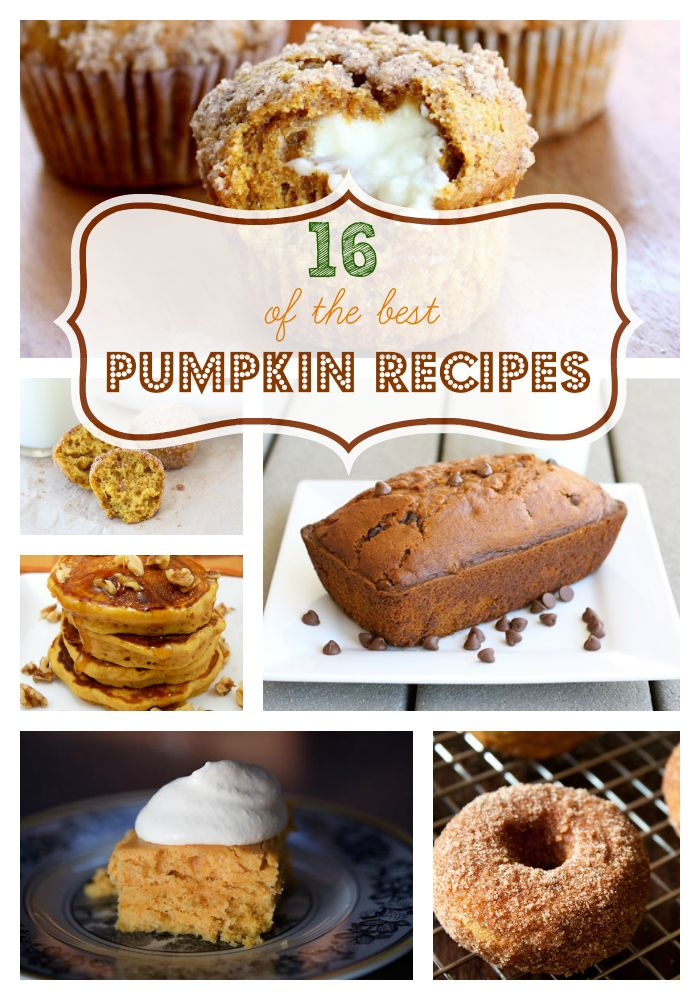 The Best Pumpkin Dessert Recipes Wwwskiptomylouorg Desserts Recipe