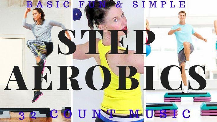 Step Aerobics Workout| Basic Step Aerobics Workout Routine |Step & Upper...