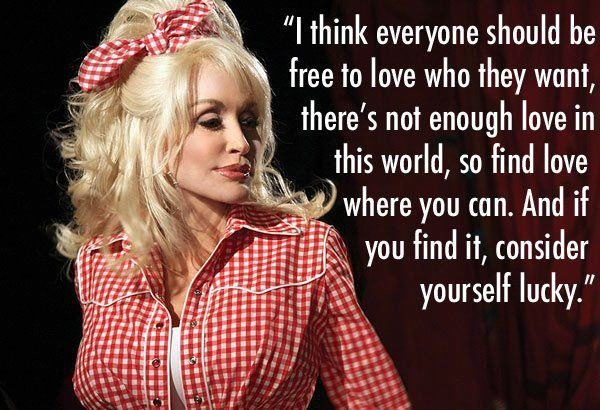 Oh dolly, you remind me of my nana.  Just one of the reasons I love you so.