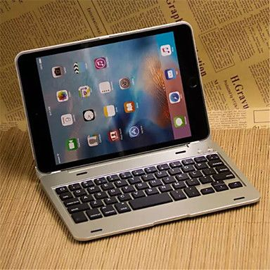 Bluetooth cas de clavier pour Mini iPad 4 (couleurs assorties)