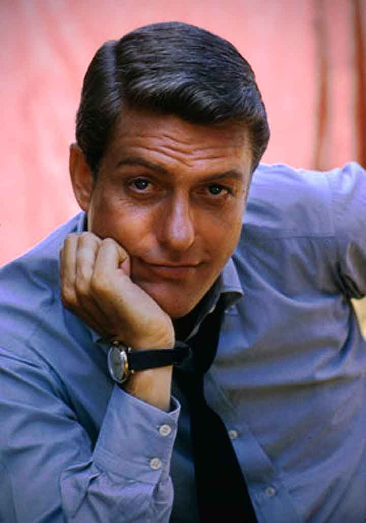 Dick Van Dyke was a pretty nice specimen of man in his day. Plus he's hilarious sooo...