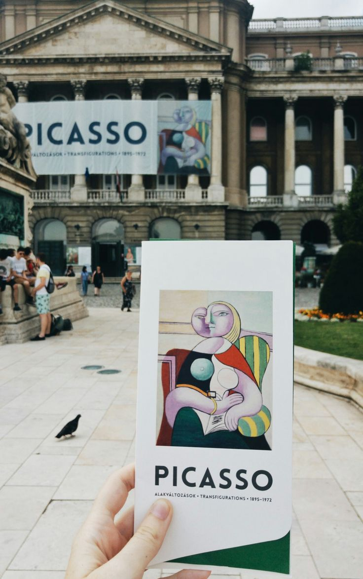 Picasso exhibition, Budapest, Hungary.