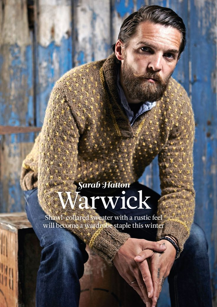 Warwick by Sarah Hatton. Read more about it on my blog: http://knittingkonrad.com/2014/09/16/the-knitter-issue-76-a-review/