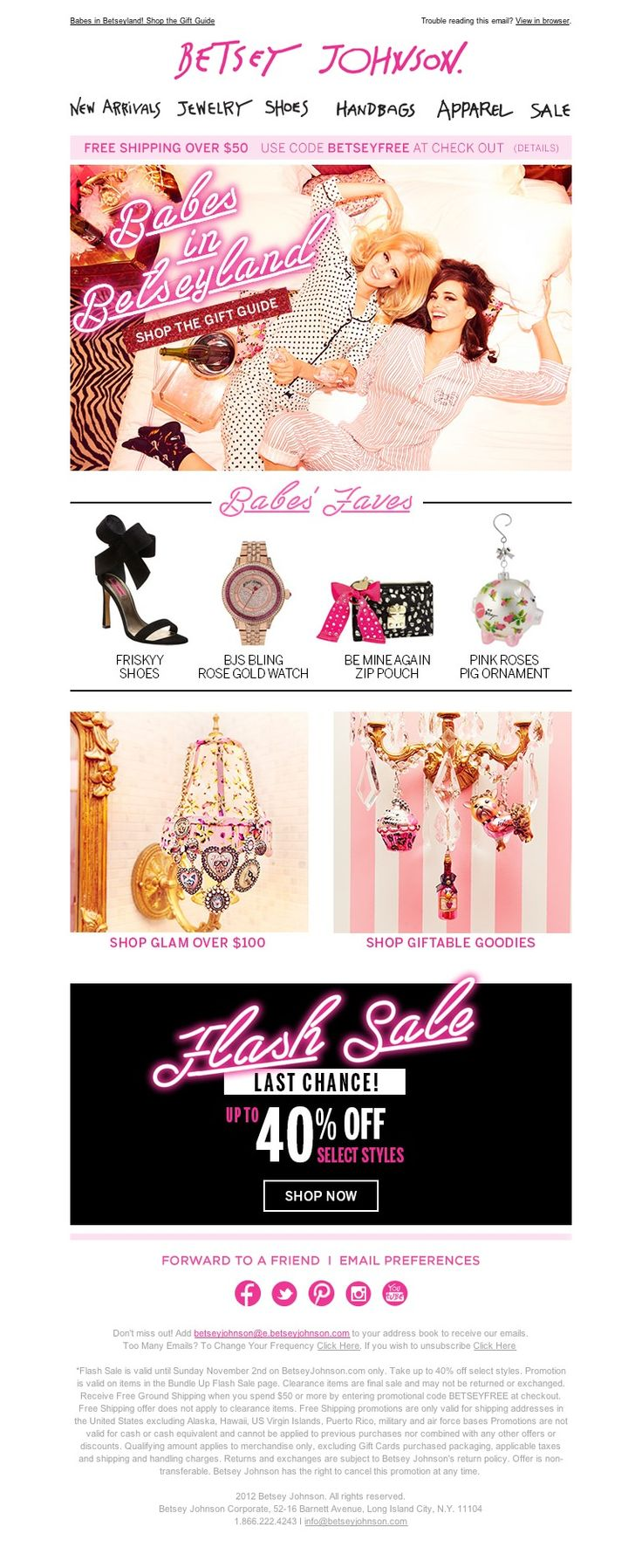 Betsey Johnson - Babes in Betseyland + Last Day Sale