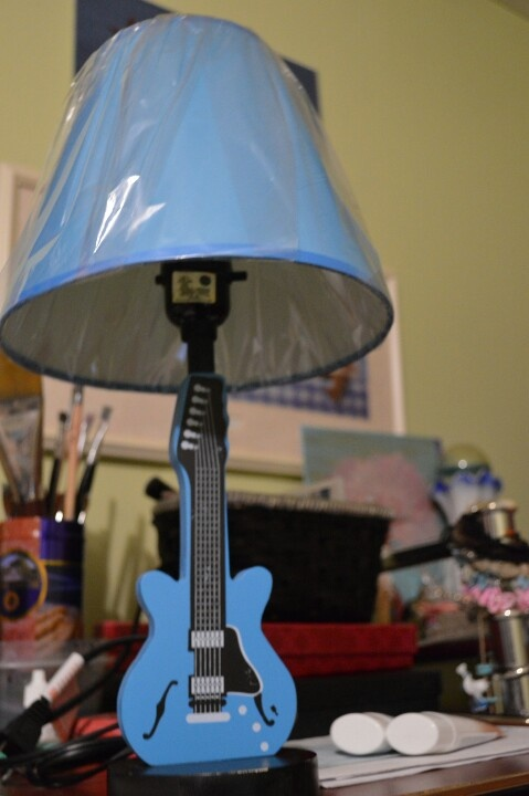 17 Best Images About Guitar Inspired Lamps On Pinterest