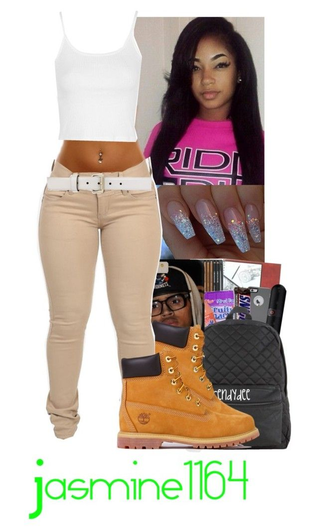 """Mila J Inspired"" by jasmine1164 ❤ liked on Polyvore featuring Timberland, Gucci and Topshop"
