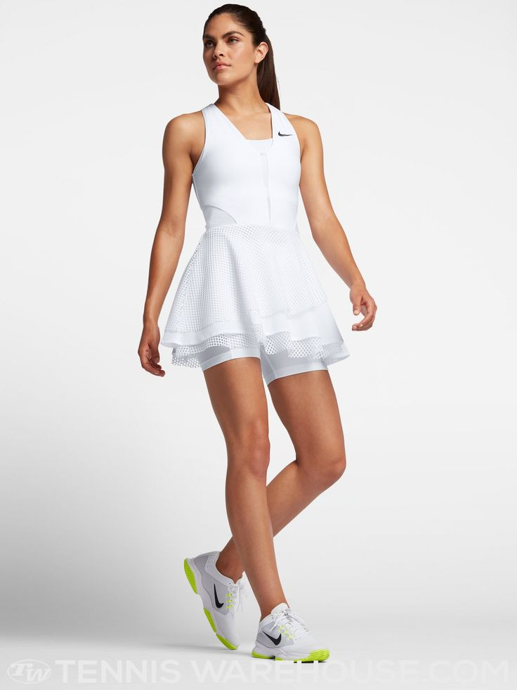 Nike Women's Fall Serena Wimbledon Power Dress #nike #tennisfashion #serena #serenawilliams #williams