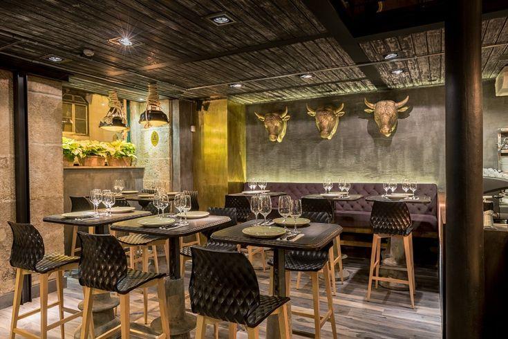 Lisbon Restaurant Features Eclectic Cuisine, Design -   - innovatives decken design restaurant