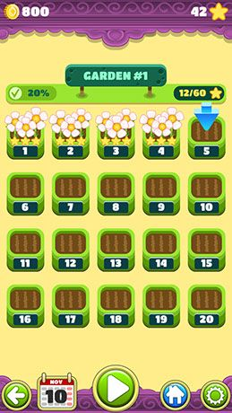 Mahjong Flower Garden is a charming take on the worldwide classic popular Mahjong puzzle genre.