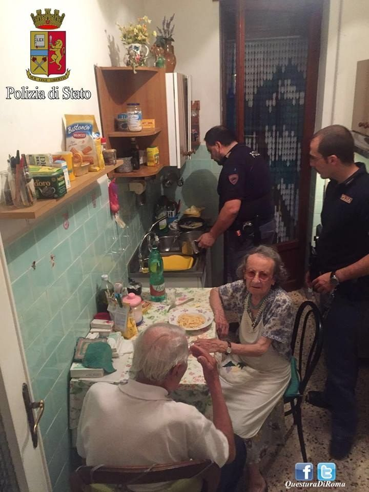 Neighbors heard elderly couple crying and call the police. They arrived to find...
