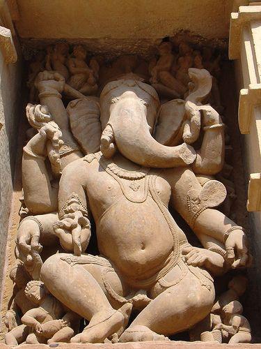 Ganesh Carving Khajuraho