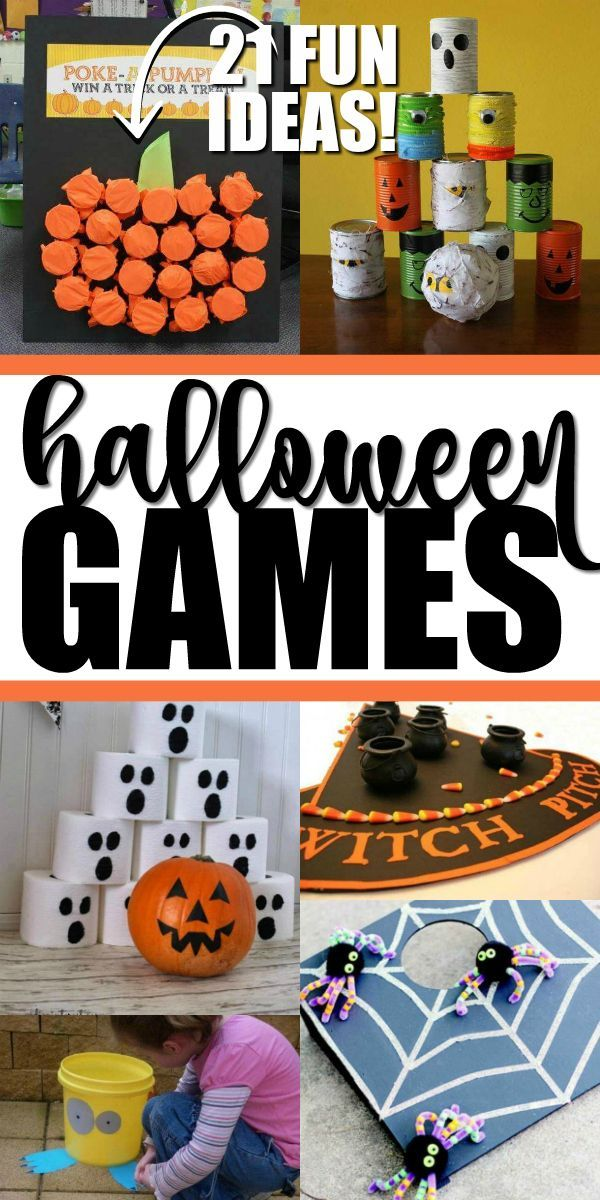 An Awesome List Of Fun Halloween Games Kids And Adults Can Play At Your Halloween Fun Halloween Party Games Halloween Games For Kids Halloween Party Activities