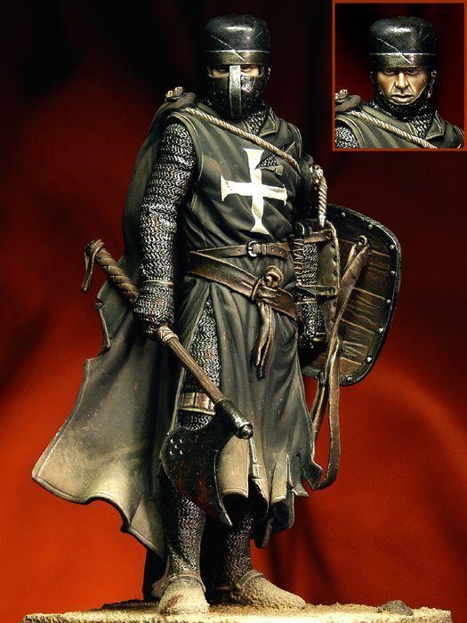 Рыцарь Госпитальер, конец 12-го века  translation : one badass knight
