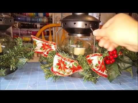 (25) Tricia's Creations: Christmas Lanterns & Votive Holders - YouTube