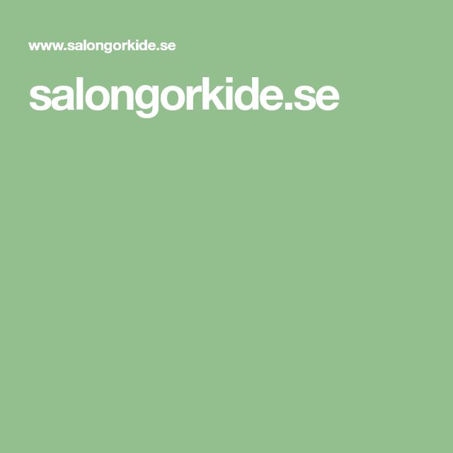 salongorkide.se