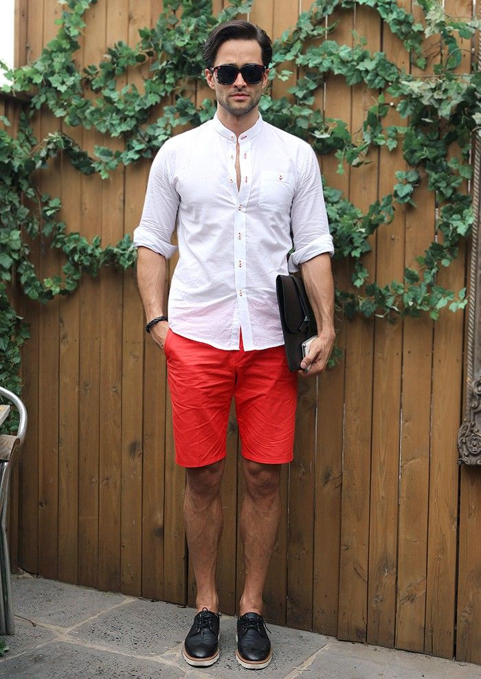 Coral Shorts Mens - The Else