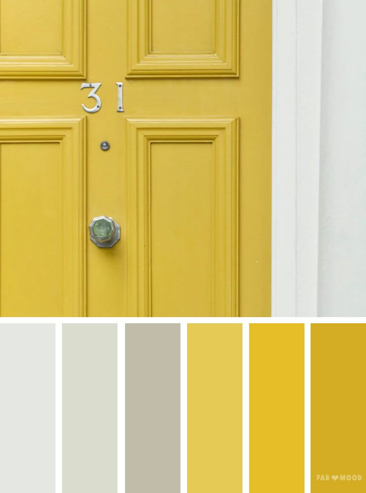Silver And Yellow Colour Scheme Grey Color Palette Looking For Inspiration At Fab Mood You Will Find 1000s