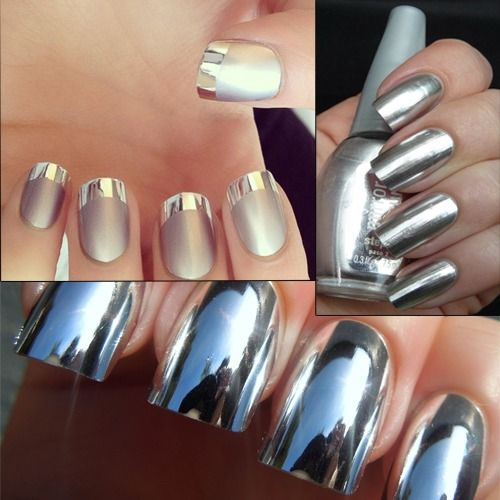 Best 25+ Mirror Effect Nail Polish Ideas On Pinterest