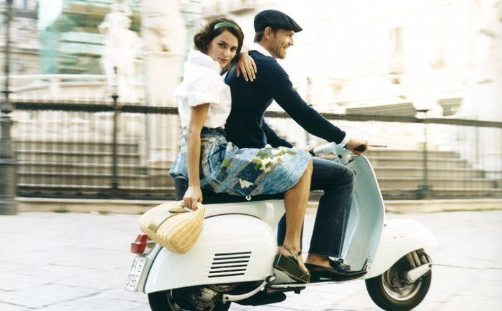 Why don't you join our Vespa tour as a newlyweds couple?