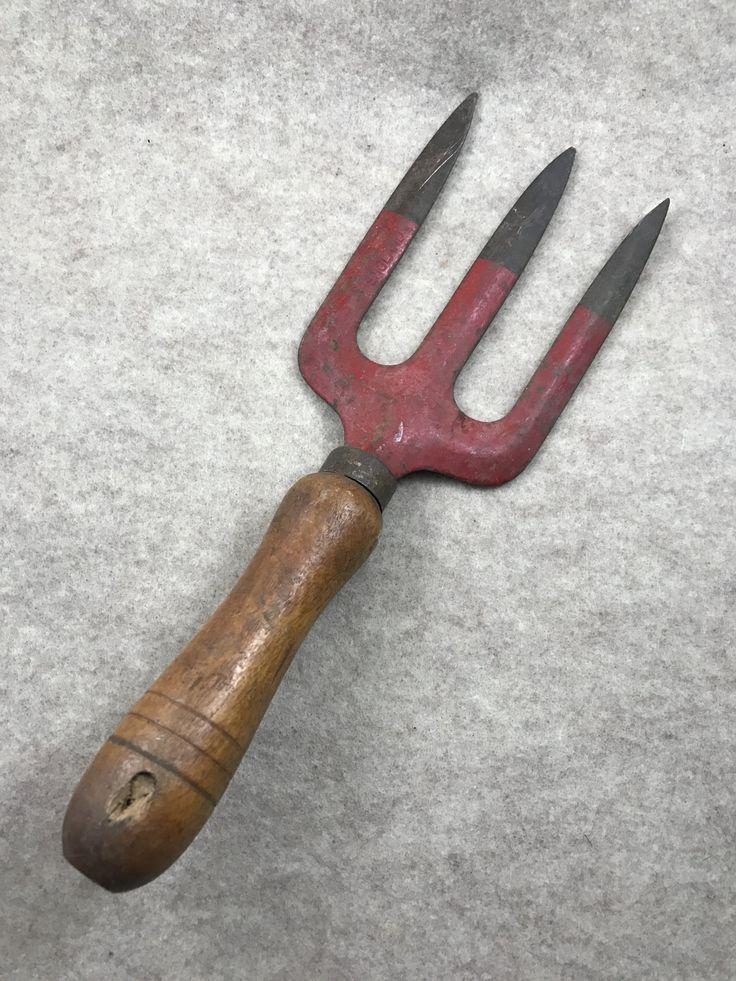 Vintage Garden Tool, Garden Hand Tool, Vintage Garden, Rustic Garden, Vintage Supply, Vintage Craft Supply, Rustic Garden Tool, Garden Shed by TexomaVintage on Etsy