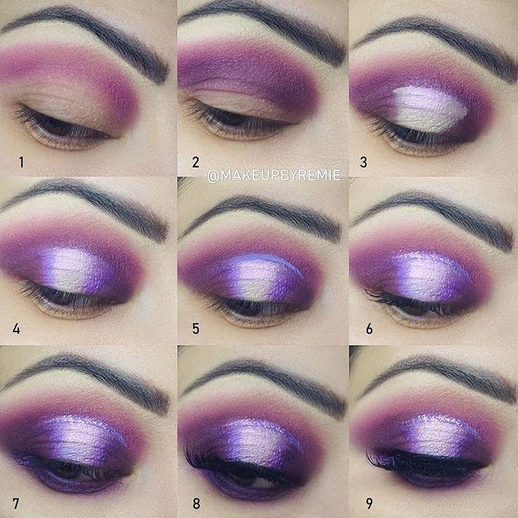 как раз макияж в фиолетовых тонах пошаговое фото распалась, ради петра