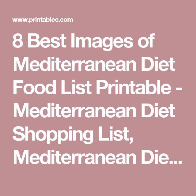 7 Day Vegetarian Mediterranean Diet Plan (PDF + Shopping List Included)